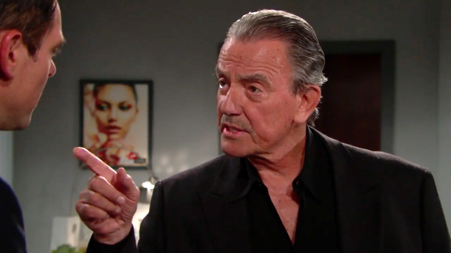 Y&R Billy and Victor - CBS