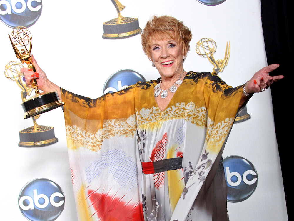 Jeanne Cooper Emmy - Getty
