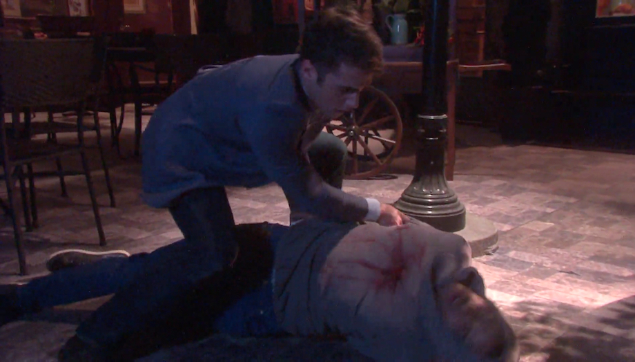 DAYS JJ shot Theo - NBC