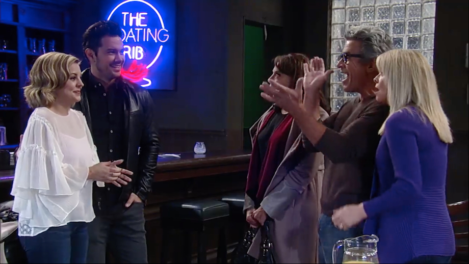GH Maxie, Nathan, and parents - ABC