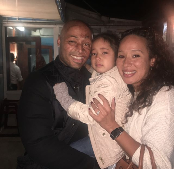 JR Martinez with Diana and Lauryn - Instagram