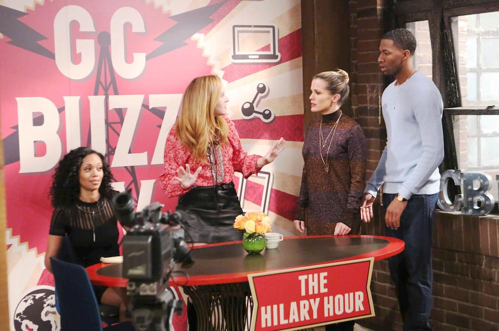 Y&R Hilary, Mariah, Chelsea, and Jordan - JPI