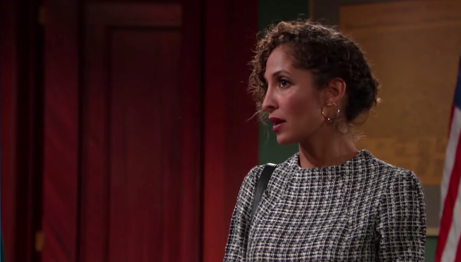 Y&R Lily in Court - CBS