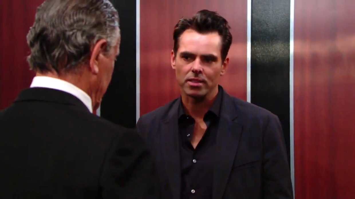 Y&R Victor and Billy - CBS