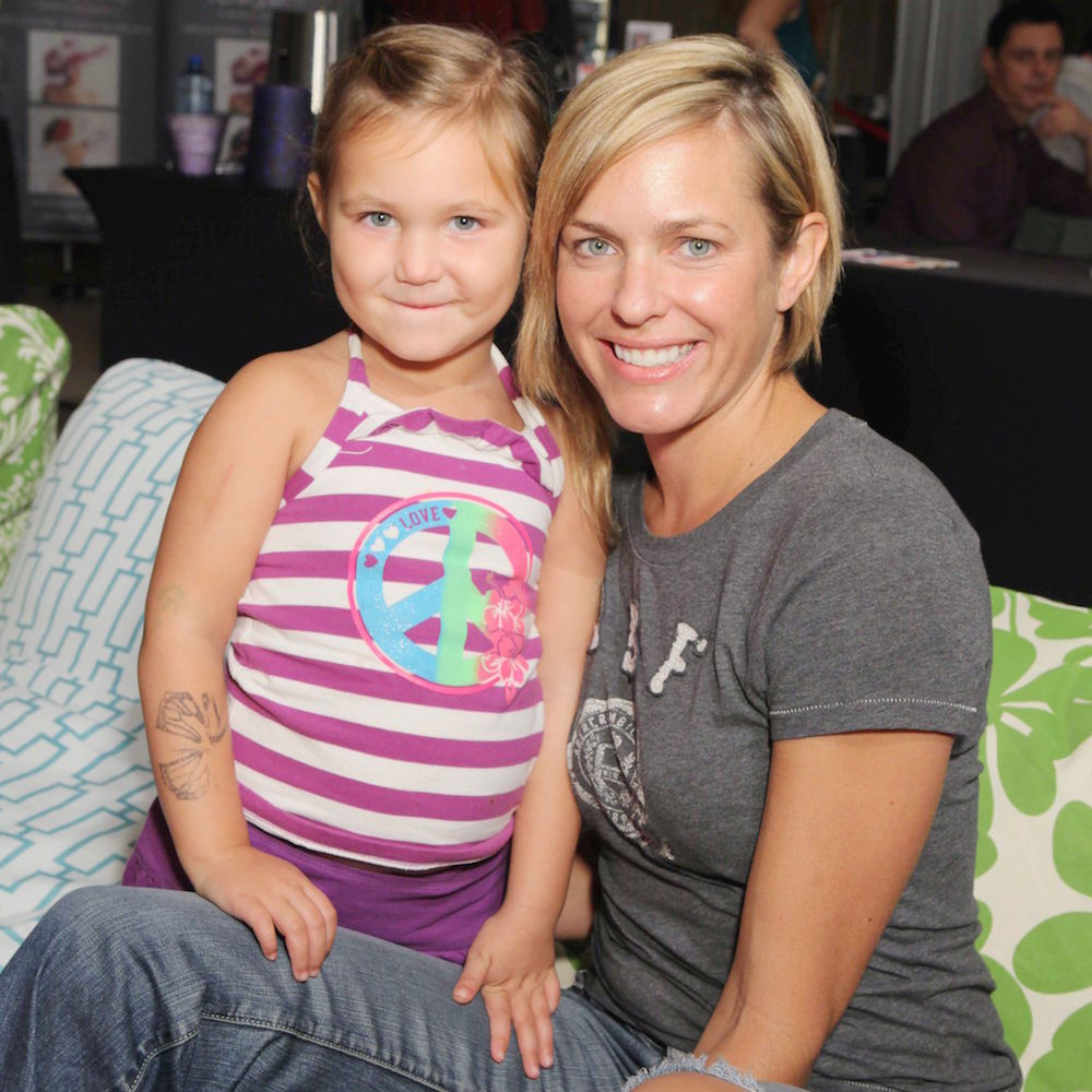 Arianne Zucker and Daughter Isabella - JPI