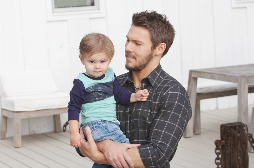 Scott Clifton and son Ford - JPI