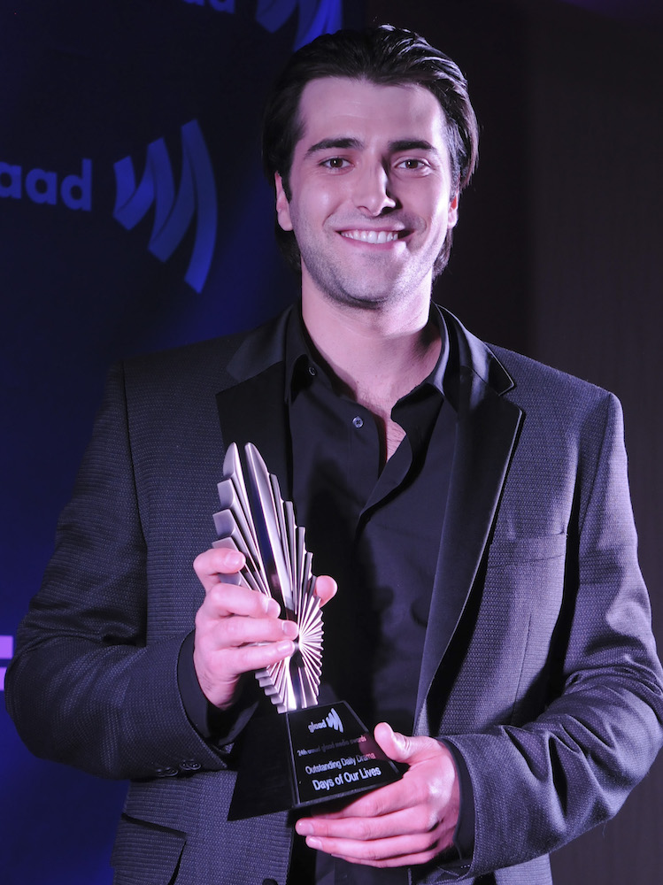 Freddie Smith GLAAD Award 2013 - Getty
