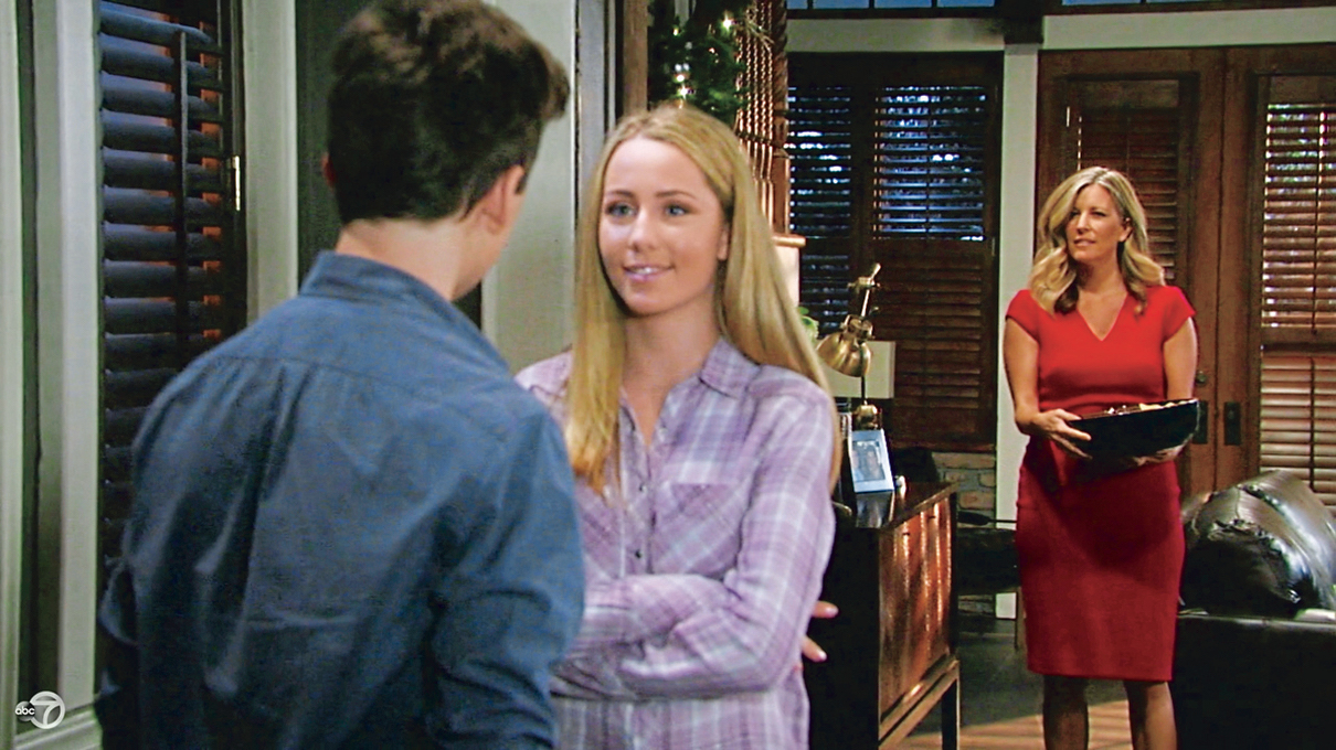GH Oscar, Joss, and Carly - ABC