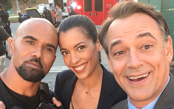 Jon Lindstrom on SWAT - Instagram