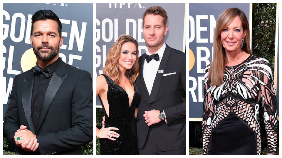 Soap Stars Golden Globes Trio - Getty
