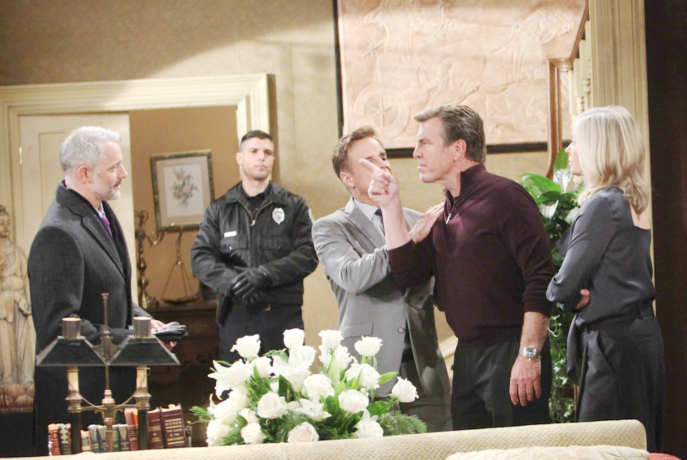 Y&R Graham and Jack fight - JPI