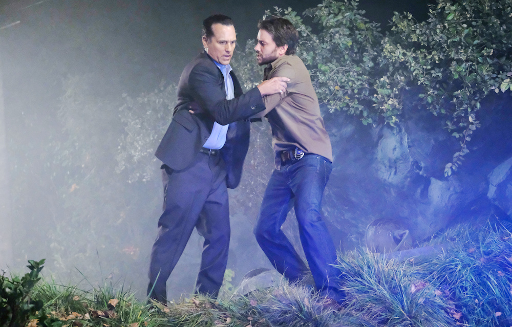 GH Dante and Sonny at Morgan's Death - JPI