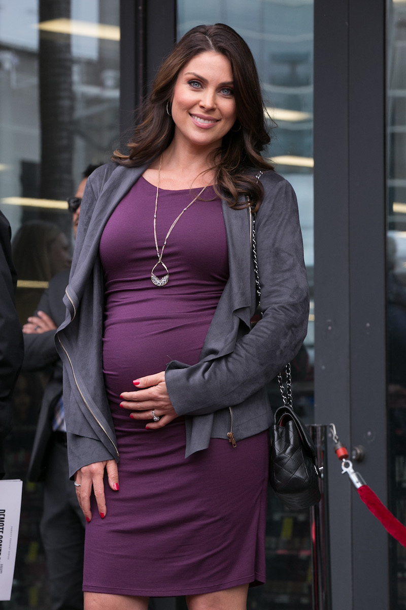 Nadia Bjorlin Baby Bump - Getty