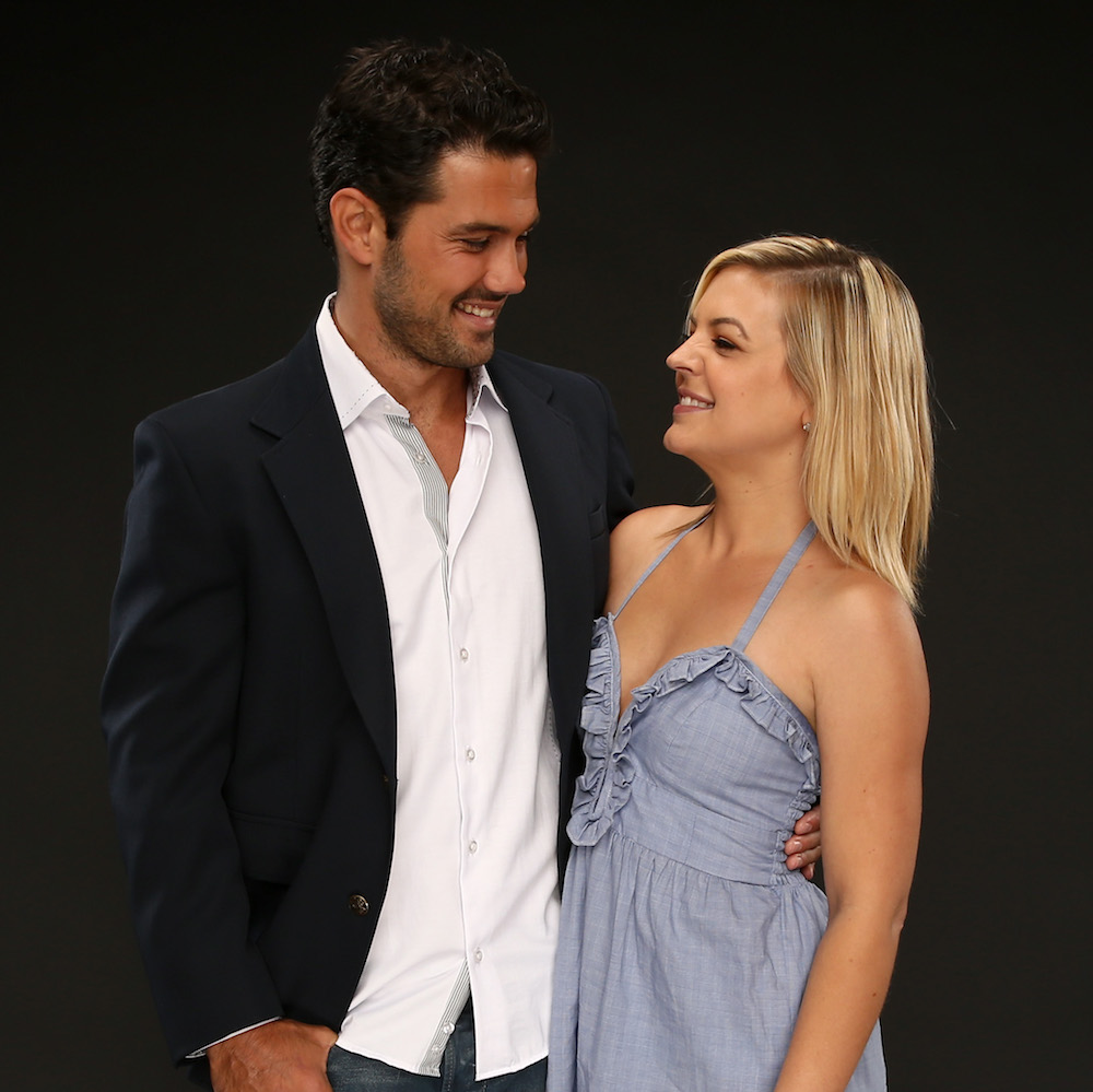 GH Ryan Paevey and Kirsten Storms - Getty