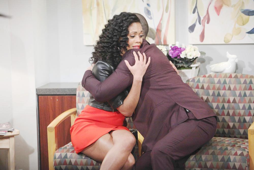 Y&R Devon and Hilary Hug - JPI