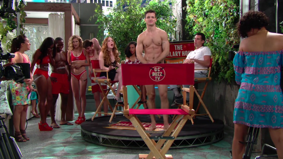 Y&R Naked Kyle - CBS
