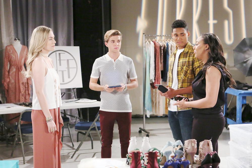 B&B Hope, Simon, Xander, and Emma