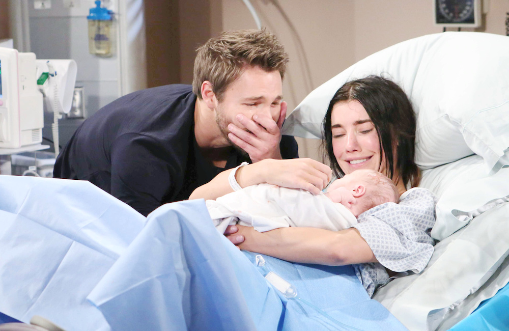 B&B Liam, Steffy, baby birth - JPI