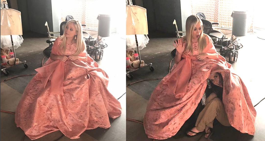 GH Emme Rylan Giant Dress - Instagram