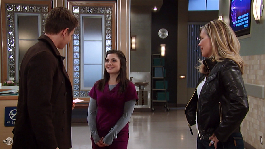GH Michael, Francesca, and Carly - ABC