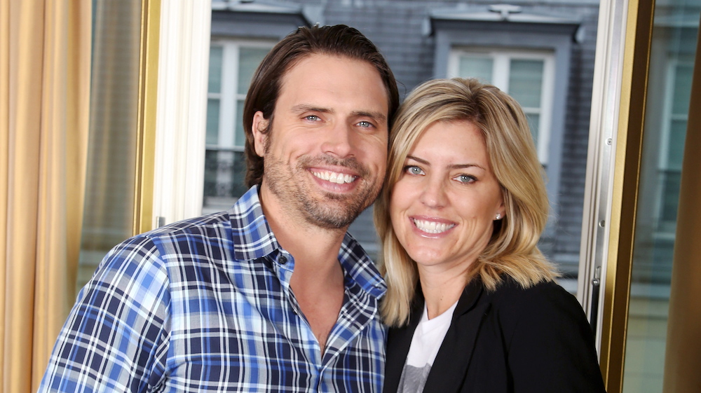 Joshua Morrow and Wife Tobe - JPI