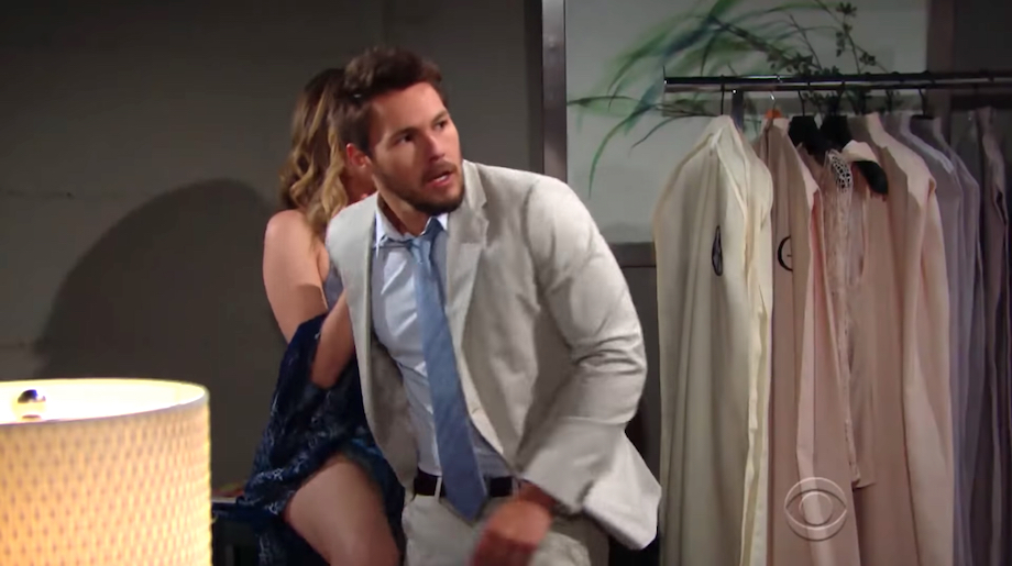 B&B Liam and Hope caught