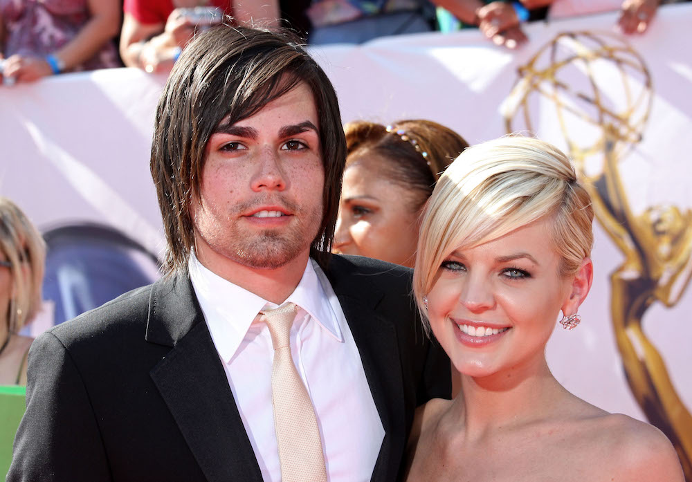 Kirsten Storms and Elias Paul Reidy at Emmys