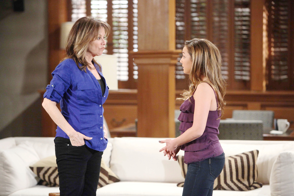 General Hospital Alexis and Kristina