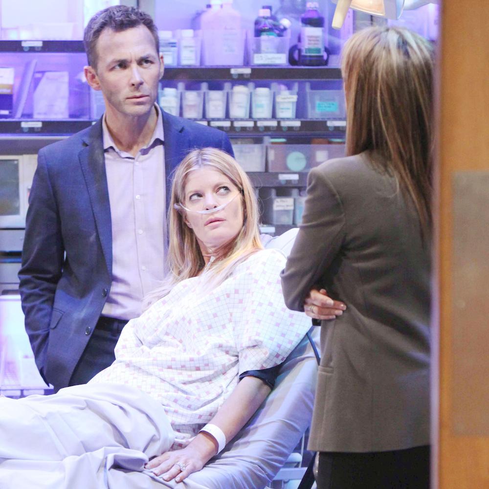 General Hospital Valentin, Nina, and Alexis