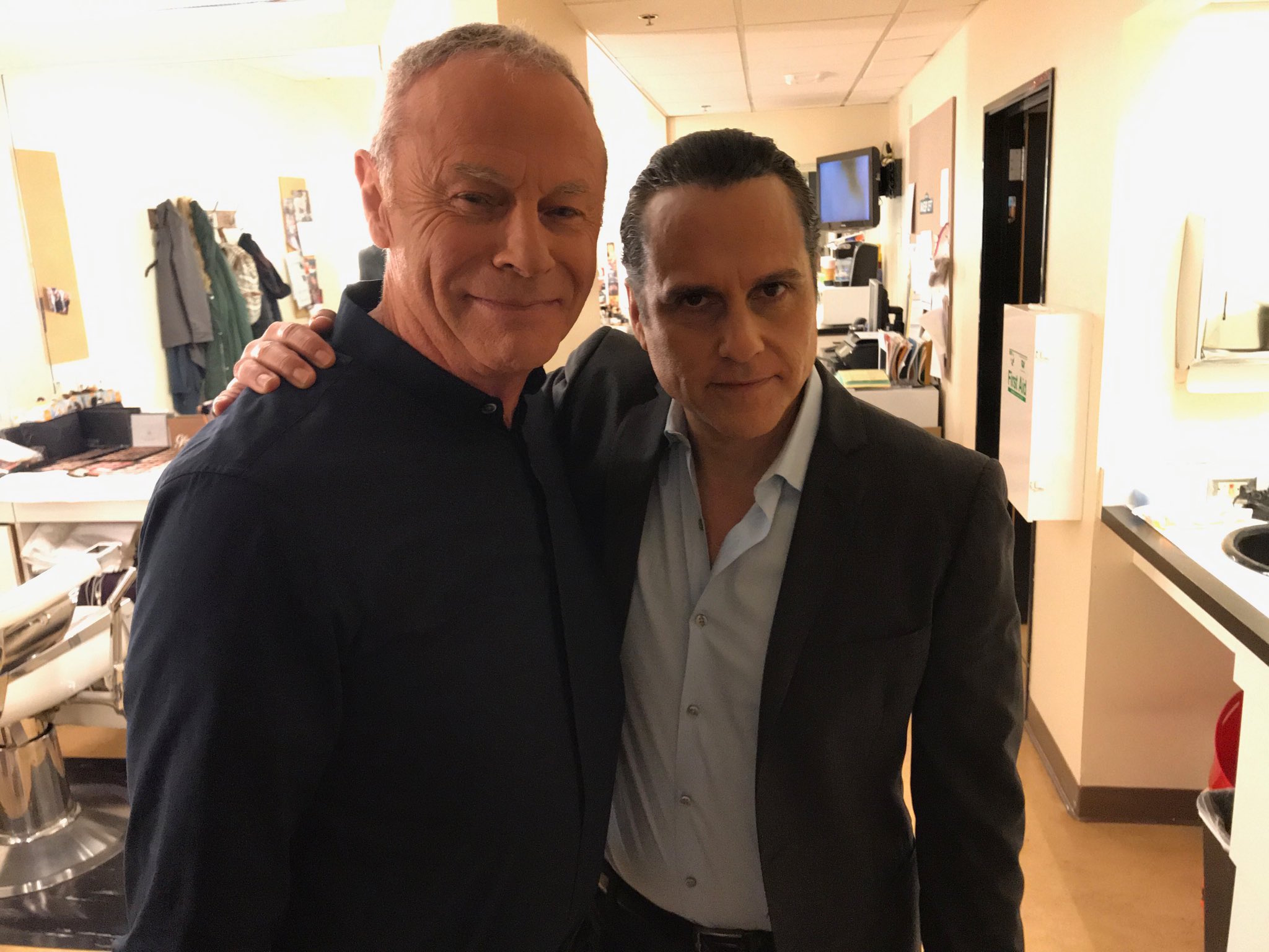 GH Tristan Rogers and Maurice Benard - Twitter