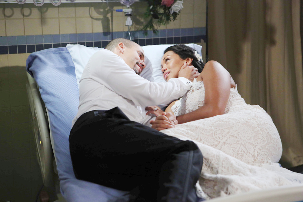The Young and The Restless Devon and Hilary dying