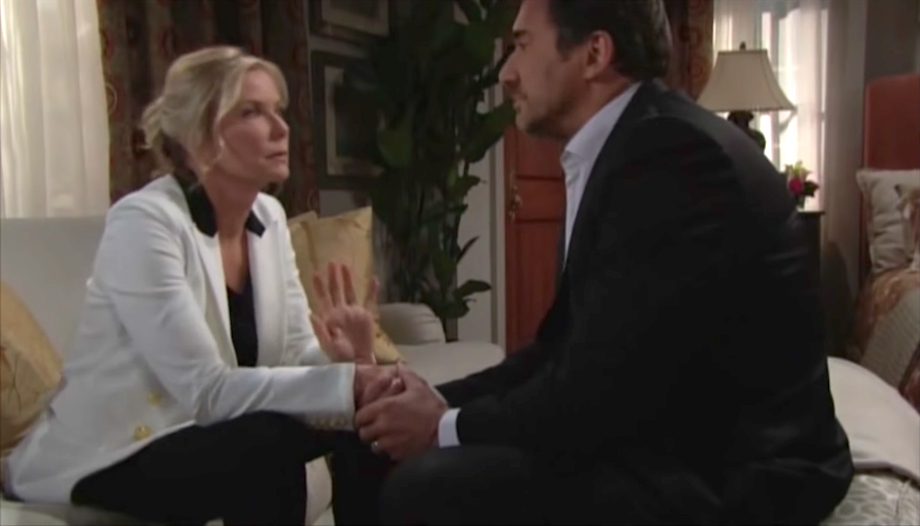 The Bold and The Beautiful Brooke and Ridge
