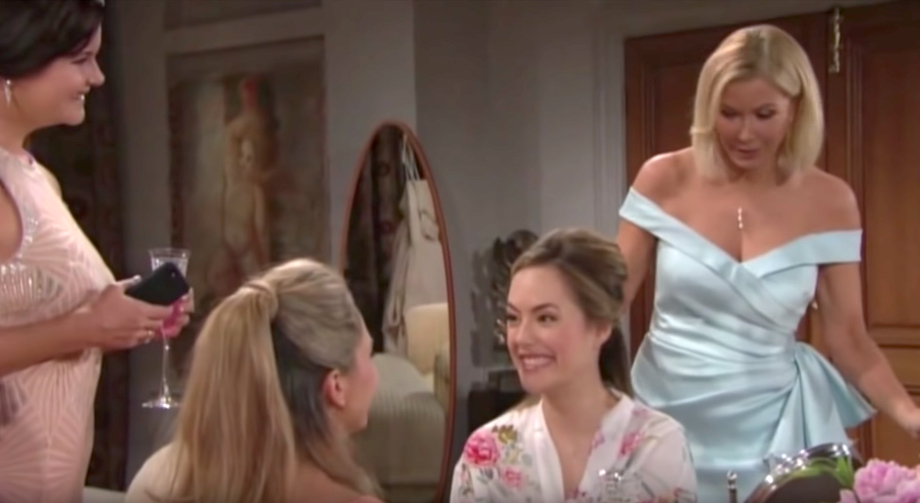 The Bold and The Beautiful Katie, Bridget, Hope, Brooke