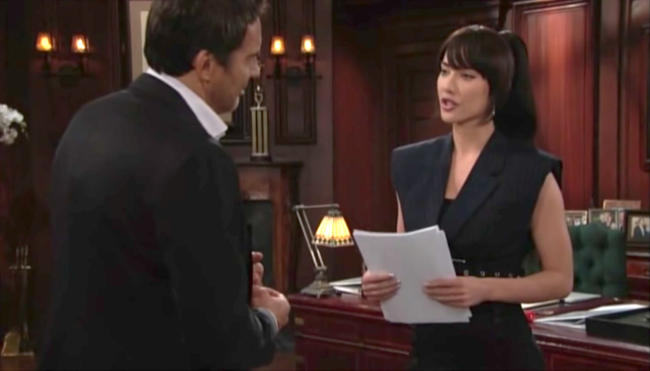 The Bold and The Beautiful Ridge and Steffy