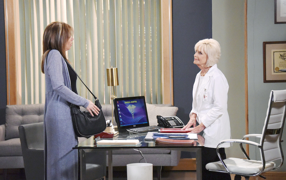 General Hospital Alexis and Monica