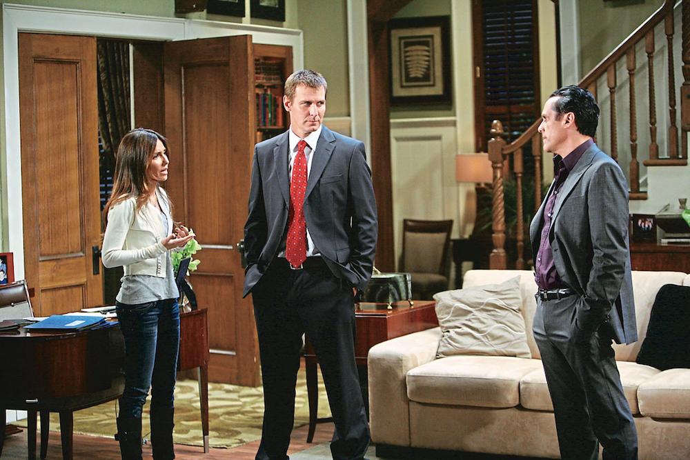 General Hospital Brenda, Jax, and Sonny