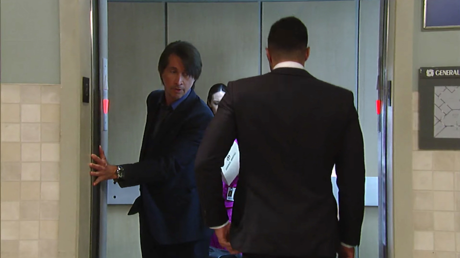 General Hospital Finn and Mystery Man