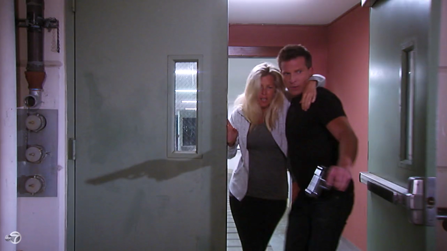 General Hospital Jason rescues Carly