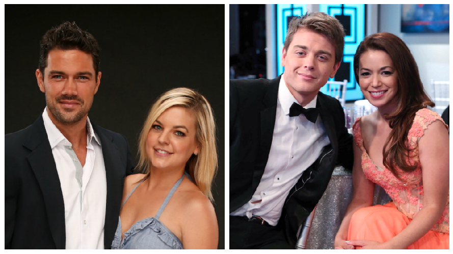 General Hospital Maxie and Nathan with Michael and Sabrina