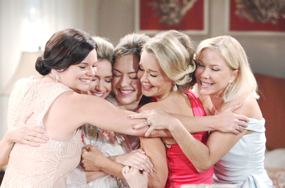 The Bold and The Beautiful Katie Hope Brooke Donna Bridget