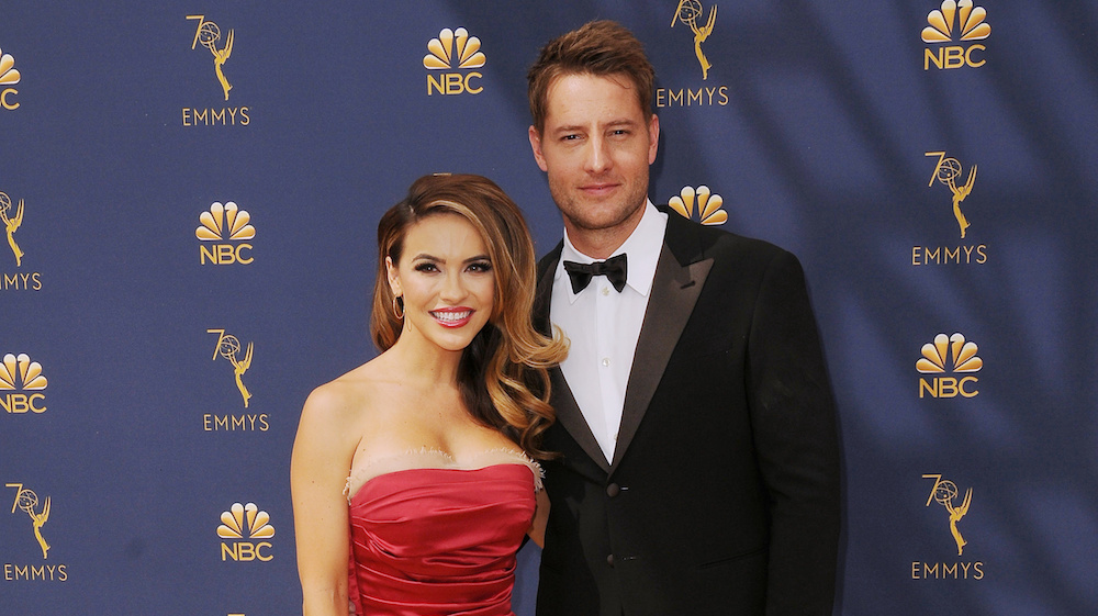 Chrishell Hartley Justin Hartley 2018 Primetime Emmy Awards