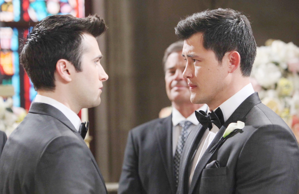 Days of Our Lives Paul Sonny wedding