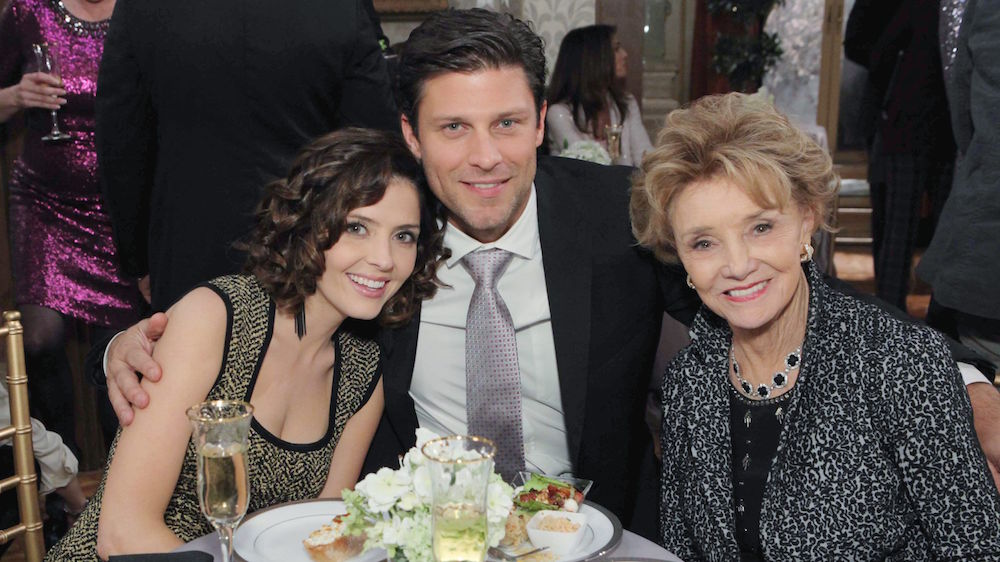 Days of Our Lives Jen Lilley Greg Vaughan Peggy McCay