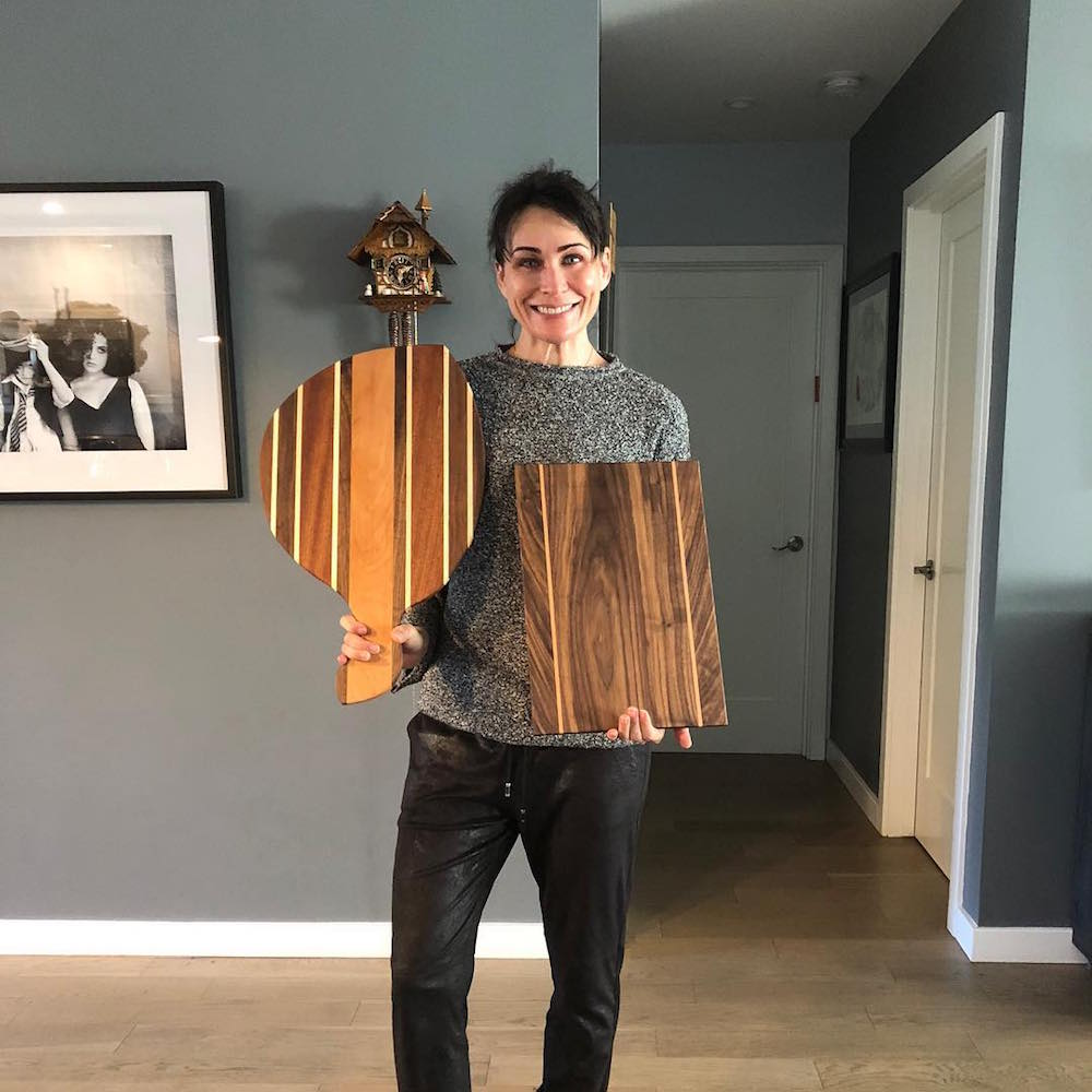 The Bold and The Beautiful Rena Sofer Woodworking