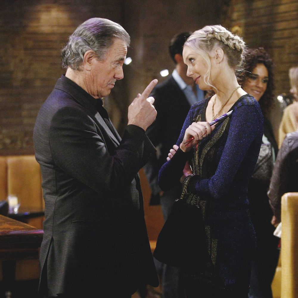 The Young and The Restless Victor Abby