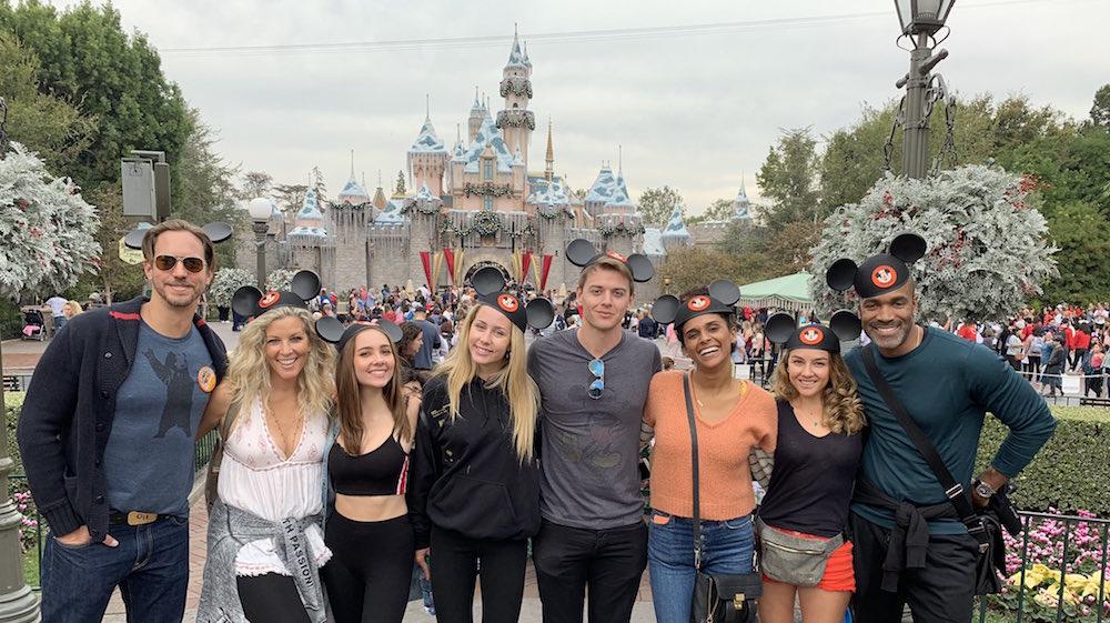 General Hospital stars at Disneyland