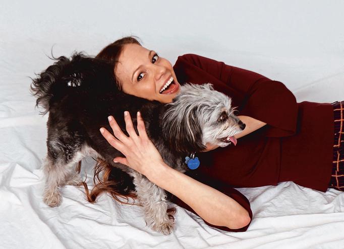 Tamara Braun dog Little