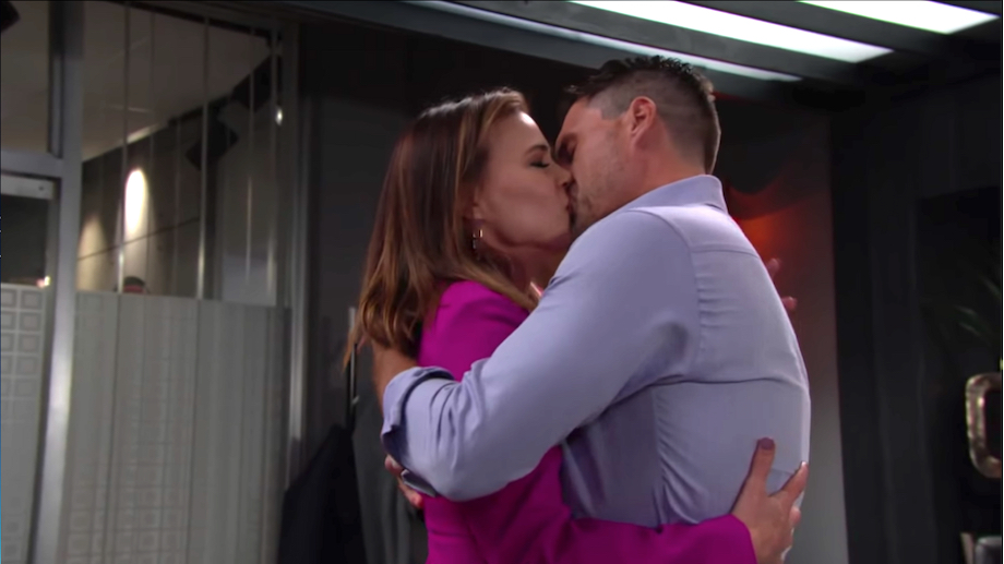 The Young and The Restless Phyllis Nick kiss