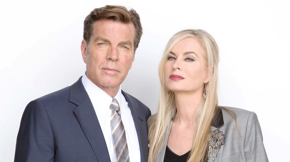 The Young and The Restless Peter Bergman Eileen Davidson