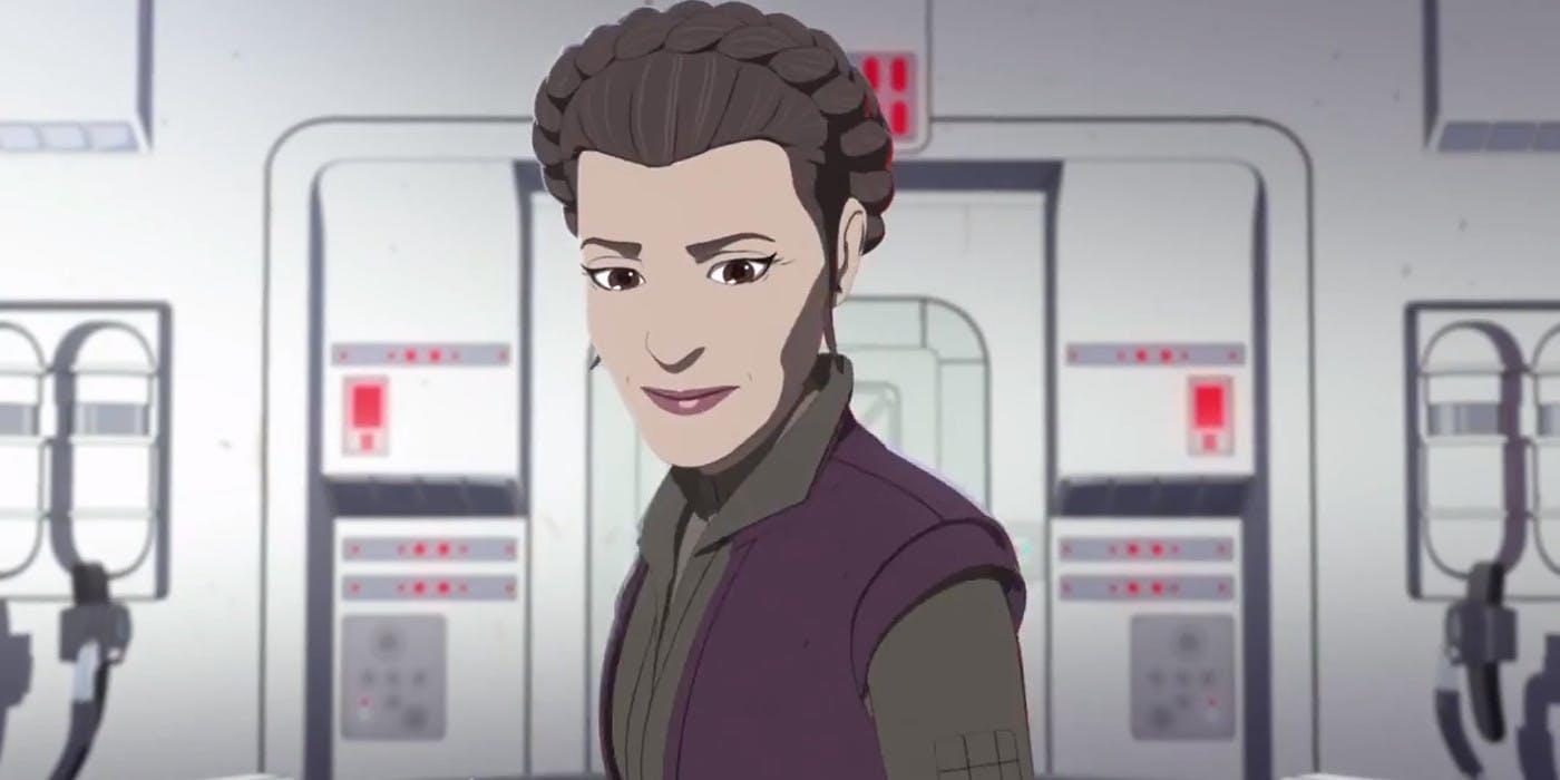 Star Wars Resistance Leia